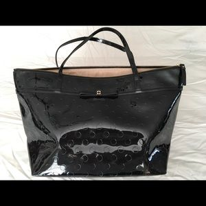 Kate Spade patent leather tote